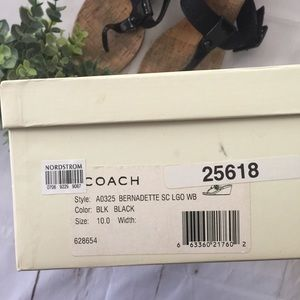 "Coach Shoes - COACH ""Bernadette"" Wedges"